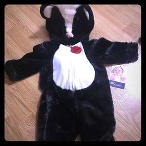 Other - Baby skunk one piece costume